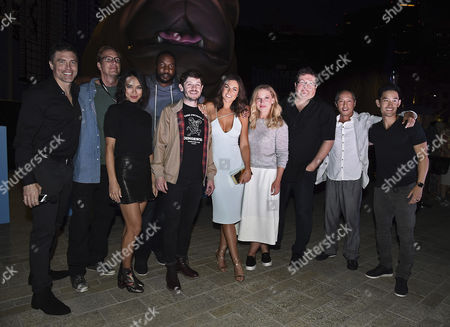 Anson Mount, Scott Buck, Writer, Sonya Balmores, Eme Ikwuakor, Iwan Rheon, Serinda Swan, Ellen Woglom, Roel Reine, Director/Executive Producer, Ken Leung and Mike Moh