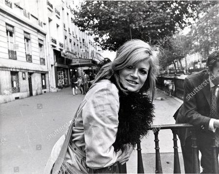 Annabel Leventon Actress In Paris. 1969