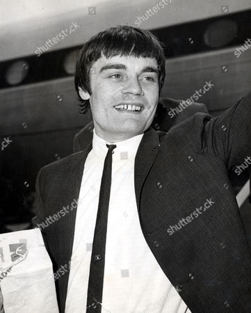Jimmy Nicol Former Drummer Who Is Known As The Fifth Beatle After He Replaced A Tonsillitis Stricken Ringo Starr On The Beatles 1964 World Tour Is Pictured On His Return To Heathrow From Australia After Starr Rejoined The Band.