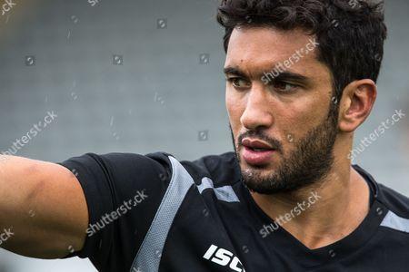 Maxime Mermoz of Newcastle Falcons.