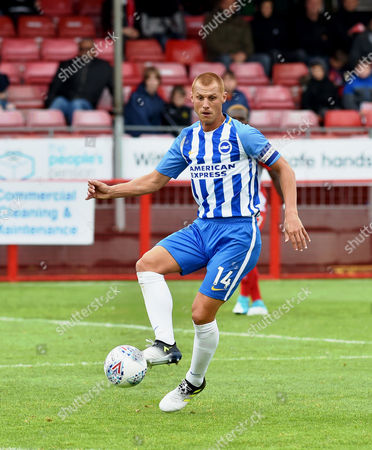 Steve Sidwell of Brighton during the Friendly match between Crawley Town and Brighton and Hove Albion at the Checkatrade Stadium in Crawley. 22 Jul 2017