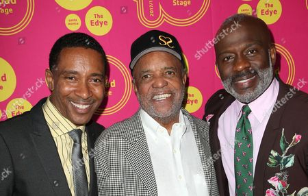 Stock Picture of Charles Randolph-Wright, Berry Gordy, Bebe Winans