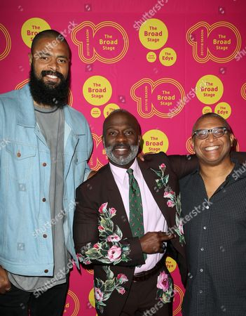 Stock Image of Tyson Chandler, Bebe Winans and guest