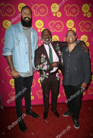 Stock Picture of Tyson Chandler, Bebe Winans and guest