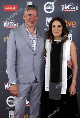 Monica Huarte and Boris Izaguirre