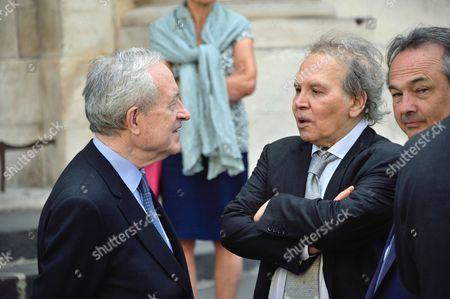 Jean Tiberi, Angelo Rinaldi and Gilles Kepel