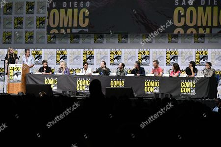 Editorial photo of 'The Big Bang Theory' TV show panel, Comic-Con International, San Diego, USA - 21 Jul 2017