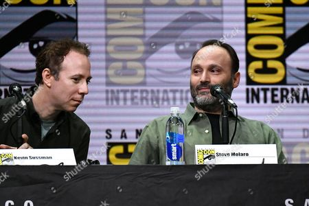 Kevin Sussman and Steve Molaro