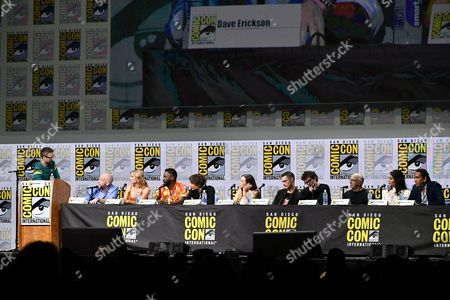 Editorial image of 'Fear the Walking Dead' TV show panel, Comic-Con International, San Diego, USA - 21 Jul 2017