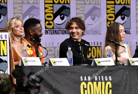 Kim Dickens, Colman Domingo, Frank Dillane and Alycia Debnam Carey
