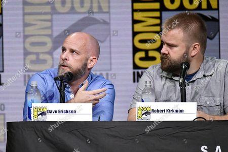 Editorial image of 'Fear the Walking Dead' TV show panel, Comic-Con International, San Diego, USA - 21 Jul 2017