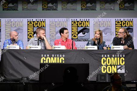 Editorial photo of 'Fear the Walking Dead' TV show panel, Comic-Con International, San Diego, USA - 21 Jul 2017