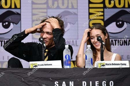Frank Dillane and Alycia Debnam Carey