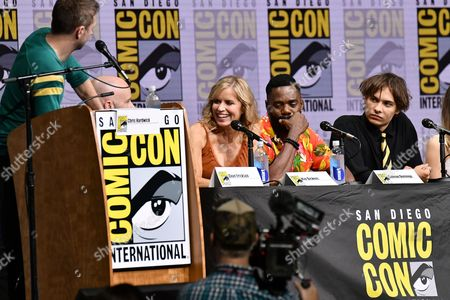 Editorial picture of 'Fear the Walking Dead' TV show panel, Comic-Con International, San Diego, USA - 21 Jul 2017