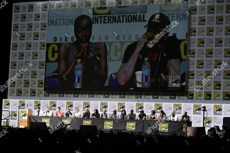 Scott M. Gimple, Robert Kirkman, David Alpert, Gale Anne Hurd, Andrew Lincoln, Greg Nicotero, Norman Reedus, Melissa McBride, Lennie James, Chandler Riggs, Danai Gurira, Jeffrey Dean Morgan, Lauren Cohan, Alanna Masterson, Seth Gilliam and Khary Payton