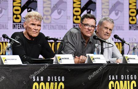 Stock Image of Everett McGill, Matthew Lillard and Don Murray