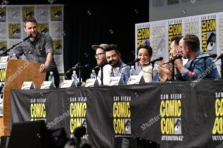 Editorial image of 'Preacher' TV show panel, Comic-Con International, San Diego, USA - 21 Jul 2017