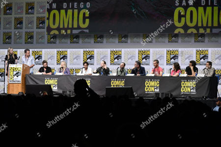 Editorial image of 'Preacher' TV show panel, Comic-Con International, San Diego, USA - 21 Jul 2017