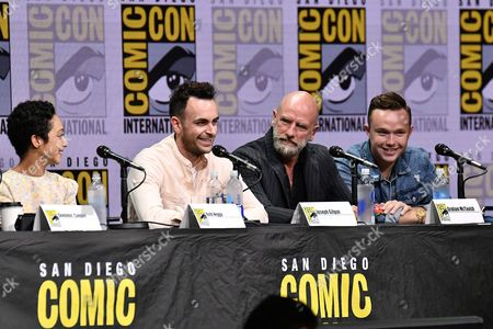 Editorial picture of 'Preacher' TV show panel, Comic-Con International, San Diego, USA - 21 Jul 2017