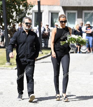 Editorial image of Funeral of Michael Nyqvist, Stockholm, Sweden - 21 Jul 2017