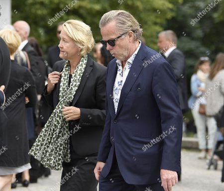 Stock Photo of Krister Henriksson, Christina Nilsson