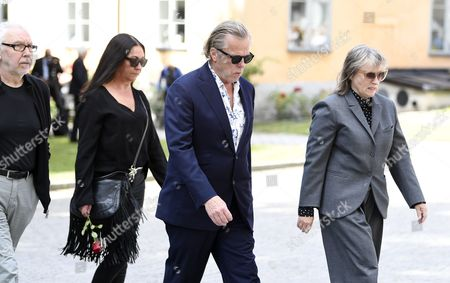 Editorial photo of Funeral of Michael Nyqvist, Stockholm, Sweden - 21 Jul 2017