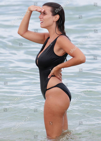 Editorial picture of Ludivine Sagna out and about, Miami Beach, USA - 20 Jul 2017