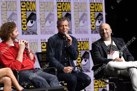 TJ Miller, Ben Mendelsohn and Zak Penn