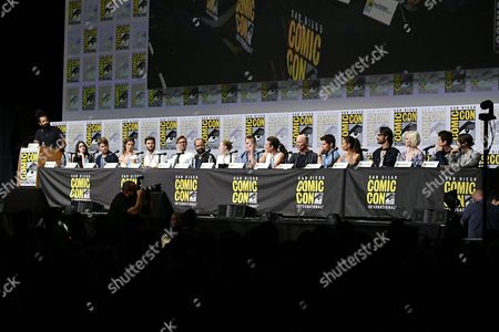 Reggie Watts, Shannon Marie Woodward, Luke Hemsworth, Angela Sarafyan, Ben Barnes, Jimmi Simpson, Jeffrey Wright, Evan Rachel Wood, Jonathan Nolan, Lisa Joy, Ed Harris, James Marsden, Thandie Newton, Rodrigo Santoro, Ingrid Bolso Berdal, Simon Quarterman and Tessa Thompson