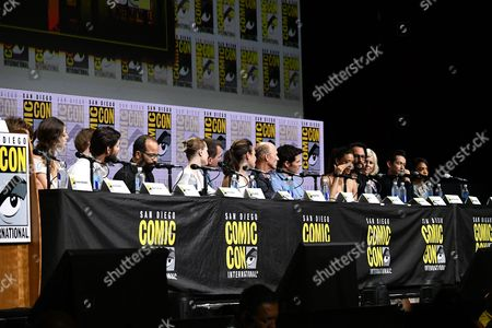 Angela Sarafyan, Ben Barnes, Jimmi Simpson, Jeffrey Wright, Evan Rachel Wood, Jonathan Nolan, Lisa Joy, Ed Harris, James Marsden, Thandie Newton, Rodrigo Santoro, Ingrid Bolso Berdal, Simon Quarterman and Tessa Thompson