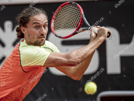 Ukraine's Alexandr Dolgopolov in action during his semi final match against Russia's Andrey Kuznetsov at the Swedish Open tennis tournament in Bastad, Sweden, 22 July 2017.