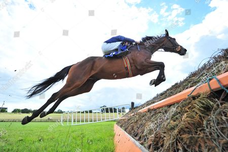 LIMERICK THE WEST'S AWAKE and Paul Townend win the Michael English Plays Live at Limerick Racecourse July 27th Beginners Chase. HEALY RACING