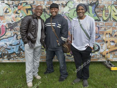 Stock Photo of The Real Thing - Chris Amoo, Dave Amoo, Dave Smith