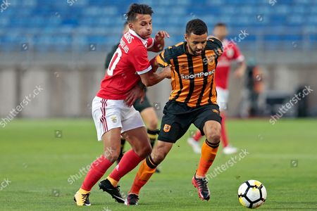 Editorial photo of Benfica vs Hull City, Loule, Portugal - 22 Jul 2017