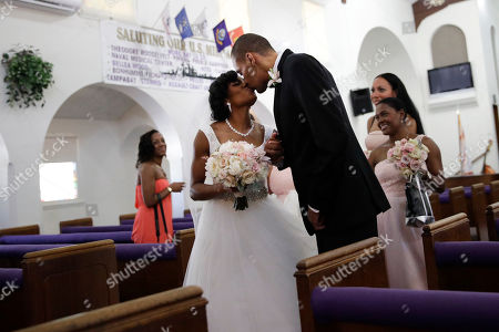 Editorial picture of Nieto Wedding, El Cajon, USA - 22 Jul 2017