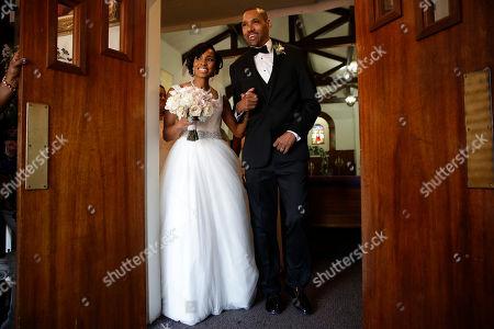 Editorial photo of Nieto Wedding, El Cajon, USA - 22 Jul 2017