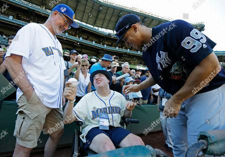 Editorial photo of Yankees Mariners Baseball, Seattle, USA - 22 Jul 2017