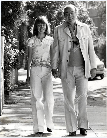 John Junkin British Comedy Actor (died March 2006) Is Pictured With His Fiance Jenny Adams (now Married Jenny Junkin).