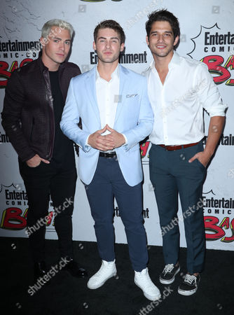Colton Haynes, Cody Christian and Tyler Posey