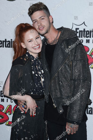 Stock Image of Madelaine Petsch and T. Mills