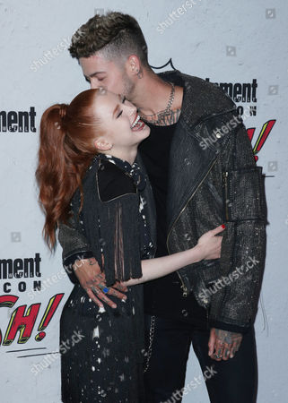 Madelaine Petsch and T. Mills