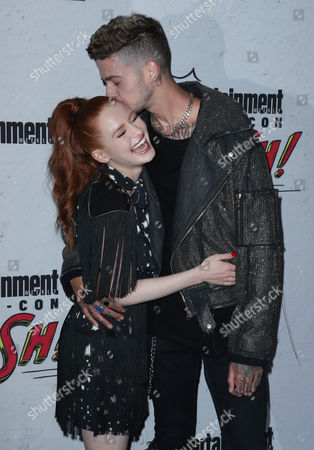 Stock Picture of Madelaine Petsch and T. Mills
