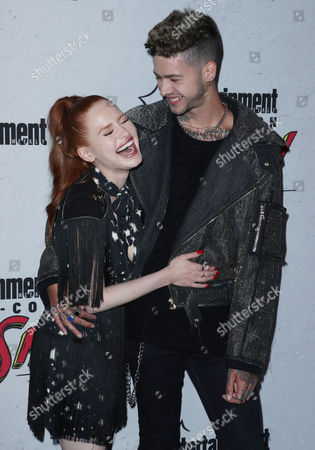 Stock Photo of Madelaine Petsch and T. Mills