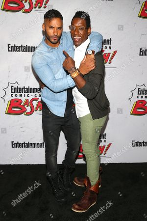 Ricky Whittle and Orlando Jones