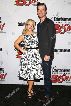 Stock Picture of Rachael Harris and Christian Hebel