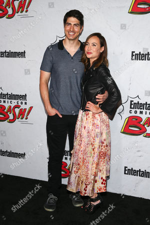 Brandon Routh and Courtney Ford