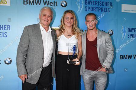 Fuzzy Garhammer, Lisa Zimmermann, Fabian Hambuechen