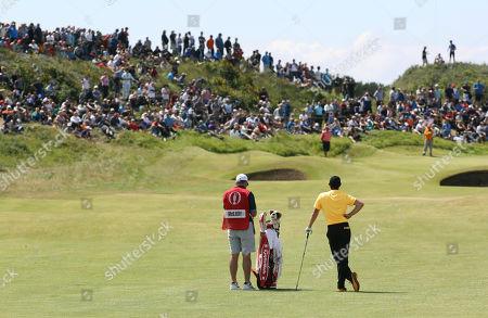 Editorial photo of British Open Golf, Southport, United Kingdom - 23 Jul 2017