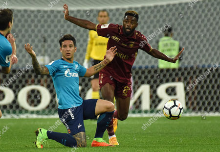 Editorial picture of Zenit St. Petersburg v Rubin Kazan, Russian Football Championship football match, St Petersburg, Russia - 22 Jul 2017