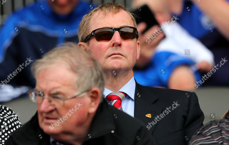 Wexford vs Waterford. Former taoiseach Enda Kenny at the game